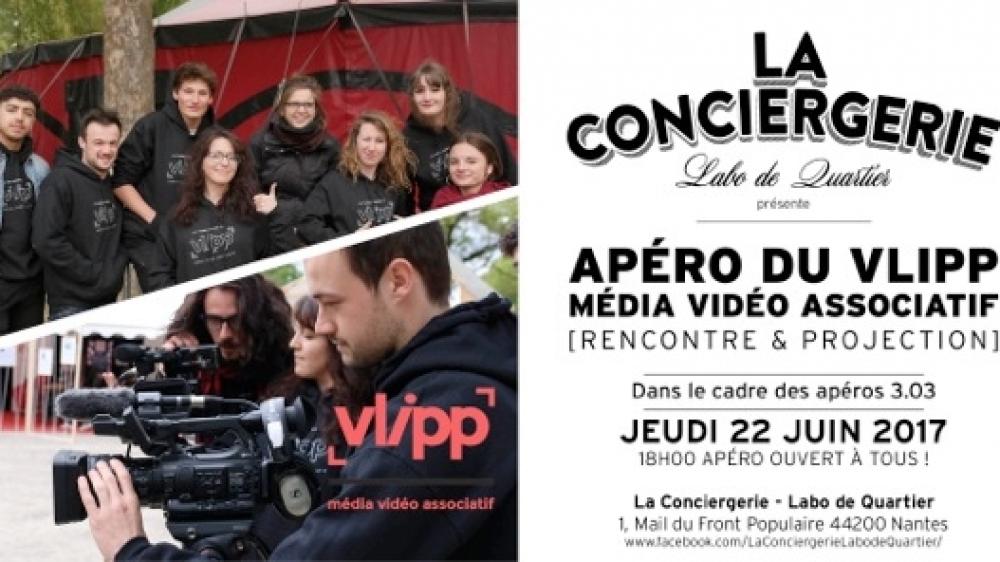 vlipp - Apéro vidéo à la Conciergerie