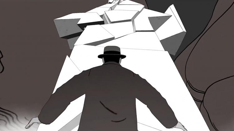 vlipp - S.E.N.S : un labyrinthe graphique immersif