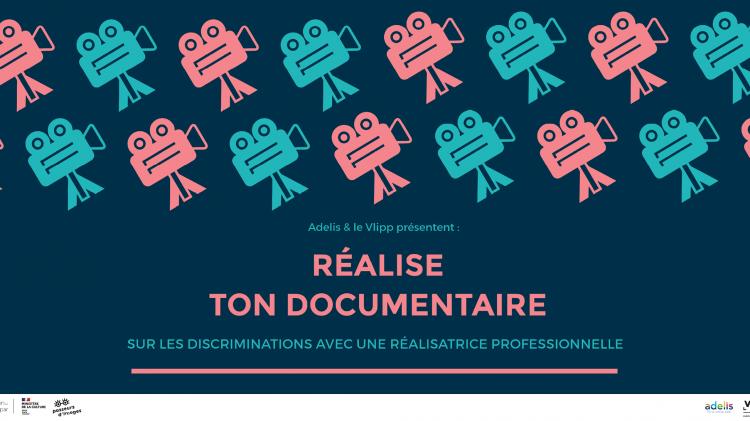 vlipp - Réalise ton documentaire sur les discrimations avec une réalisatrice professionnelle !